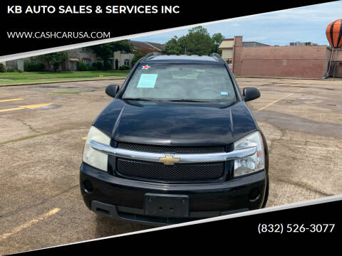 2008 Chevrolet Equinox for sale at KB AUTO SALES & SERVICES INC in Houston TX