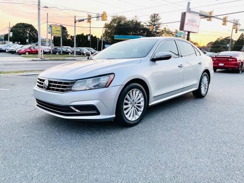 2016 Volkswagen Passat for sale at LotOfAutos in Allentown PA