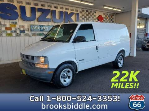 2002 Chevrolet Astro Cargo for sale at BROOKS BIDDLE AUTOMOTIVE in Bothell WA