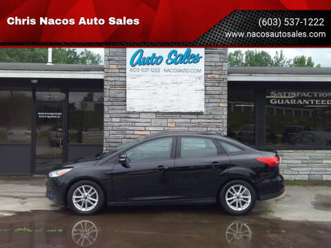 2016 Ford Focus for sale at Chris Nacos Auto Sales in Derry NH