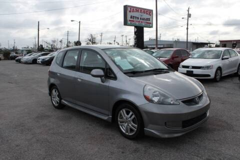 2008 Honda Fit for sale at Jamrock Auto Sales of Panama City in Panama City FL