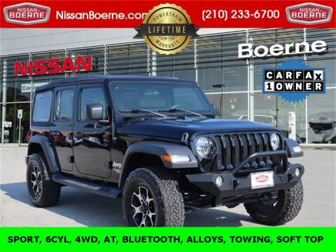 2018 Jeep Wrangler Unlimited for sale at Nissan of Boerne in Boerne TX