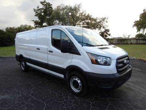 2020 Ford Transit Cargo for sale at SUPER DEAL MOTORS 441 in Hollywood FL