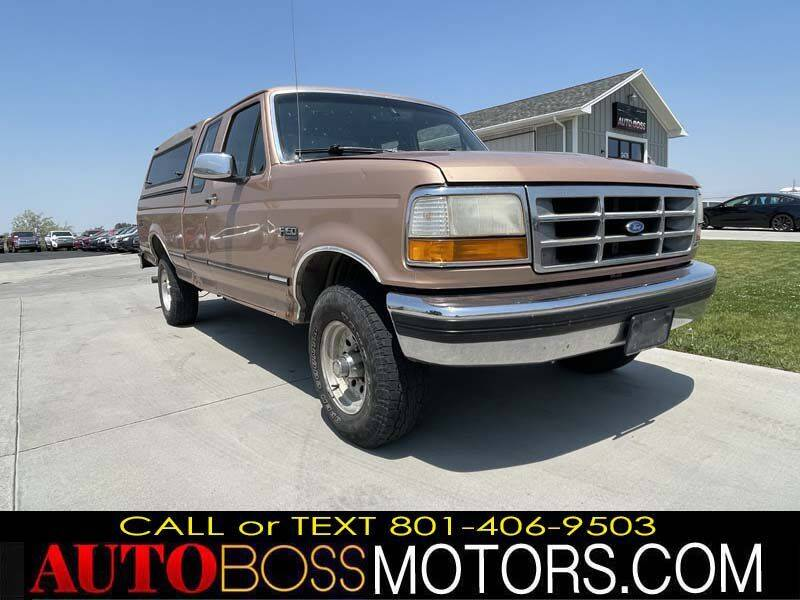 1994 Ford F-150 for sale at Auto Boss in Woods Cross UT
