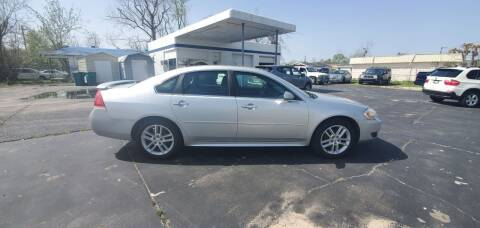 2012 Chevrolet Impala for sale at Bill Bailey's Affordable Auto Sales in Lake Charles LA
