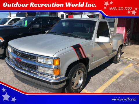 1994 Chevrolet C/K 1500 Series for sale at Outdoor Recreation World Inc. in Panama City FL