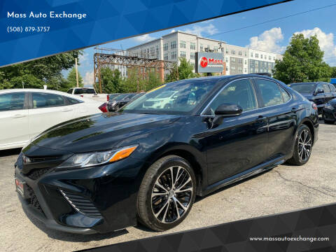 2018 Toyota Camry for sale at Mass Auto Exchange in Framingham MA