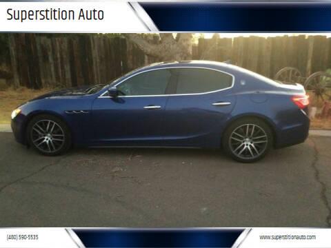 2014 Maserati Ghibli for sale at Superstition Auto in Mesa AZ