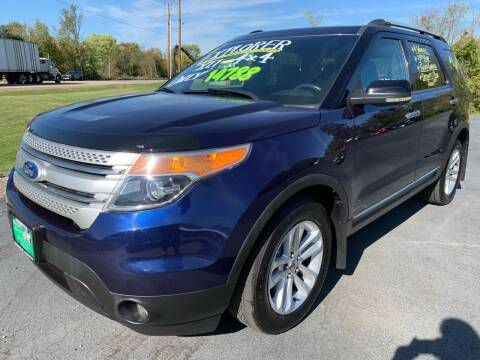 2011 Ford Explorer for sale at FREDDY'S BIG LOT in Delaware OH