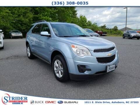 2014 Chevrolet Equinox for sale at STRIDER BUICK GMC SUBARU in Asheboro NC