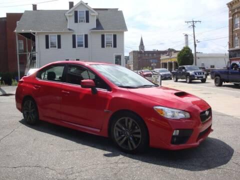 2017 Subaru WRX for sale at ROSS MOTOR CARS in Torrington CT