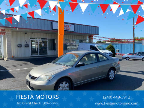 2005 Honda Civic for sale at FIESTA MOTORS in Hagerstown MD