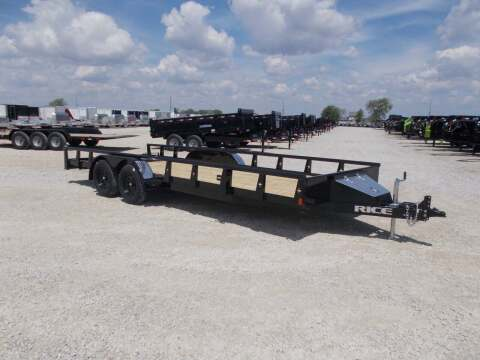 2021 Rice Trailers Tandem Utility