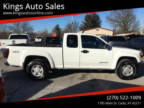 2005 GMC Canyon for sale at Kings Auto Sales in Cadiz KY