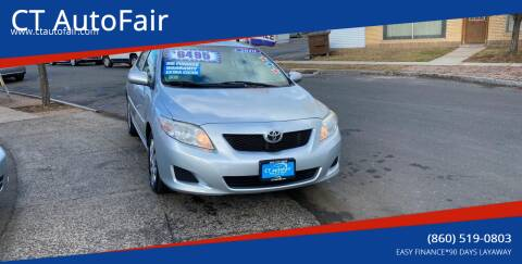 2010 Toyota Corolla for sale at CT AutoFair in West Hartford CT