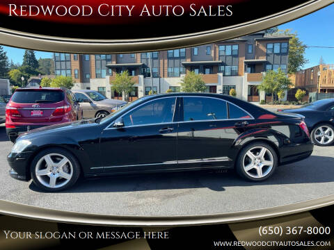 2008 Mercedes-Benz S-Class for sale at Redwood City Auto Sales in Redwood City CA