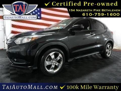 2016 Honda HR-V for sale at Taj Auto Mall in Bethlehem PA