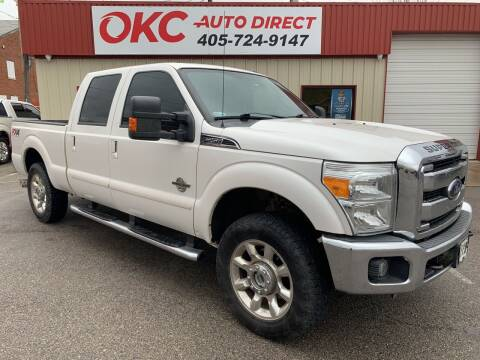 2015 Ford F-250 Super Duty for sale at OKC Auto Direct in Oklahoma City OK