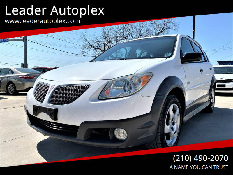 2007 Pontiac Vibe for sale at Leader Autoplex in San Antonio TX