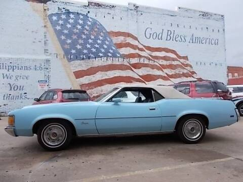 1972 Mercury Cougar for sale at LARRY'S CLASSICS in Skiatook OK