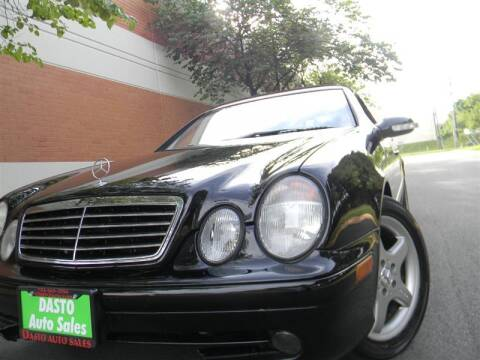 2002 Mercedes-Benz CLK for sale at Dasto Auto Sales in Manassas VA