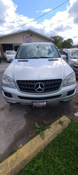 2006 Mercedes-Benz M-Class AWD ML 350 4MATIC 4dr SUV - South Chicago Heights IL