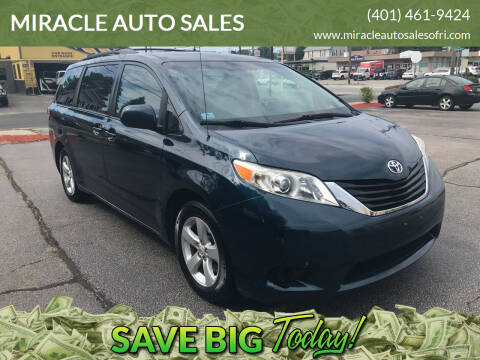 2011 Toyota Sienna for sale at MIRACLE AUTO SALES in Cranston RI