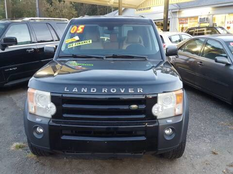 2005 Land Rover LR3 for sale at Coliseum Auto Sales & SVC in Charlotte NC