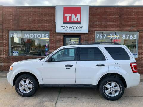 2010 Ford Escape for sale at Top Motors LLC in Portsmouth VA