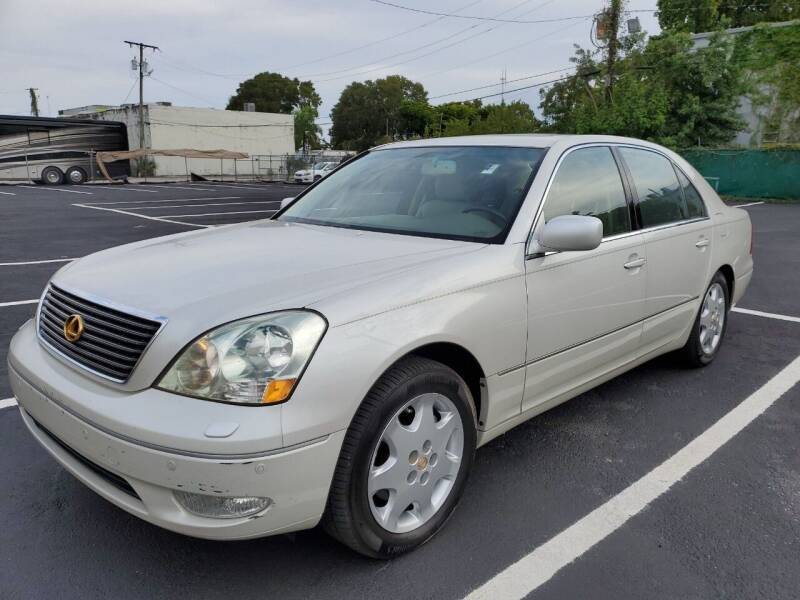 2002 Lexus LS 430 for sale at Eden Cars Inc in Hollywood FL