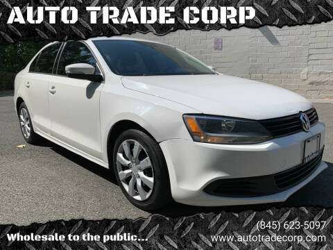 2011 Volkswagen Jetta for sale at AUTO TRADE CORP in Nanuet NY