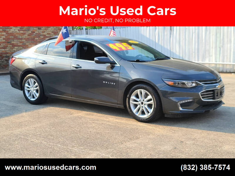 2017 Chevrolet Malibu for sale at Mario's Used Cars - South Houston Location in South Houston TX