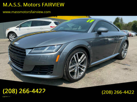 2017 Audi TT for sale at M.A.S.S. Motors - Fairview in Boise ID