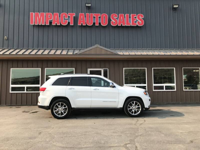 2014 Jeep Grand Cherokee for sale at Impact Auto Sales in Wenatchee WA
