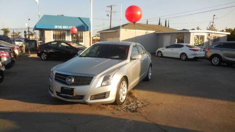 2013 Cadillac ATS for sale at Luxor Motors Inc in Pacoima CA
