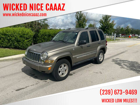 2005 Jeep Liberty for sale at WICKED NICE CAAAZ in Cape Coral FL