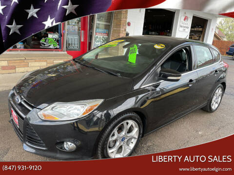 2012 Ford Focus for sale at Liberty Auto Sales in Elgin IL
