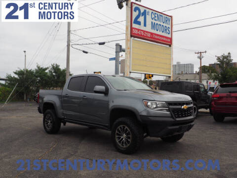 2018 Chevrolet Colorado for sale at 21st Century Motors in Fall River MA