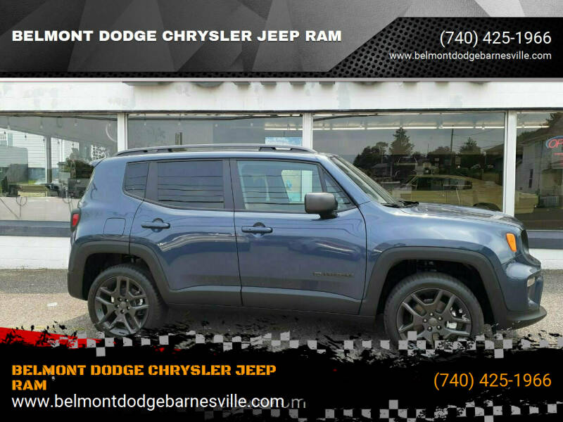 2021 Jeep Renegade for sale at BELMONT DODGE CHRYSLER JEEP RAM in Barnesville OH