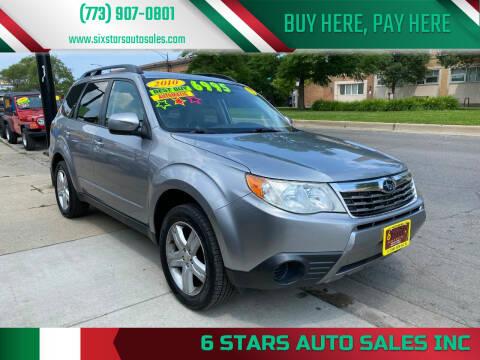 2010 Subaru Forester for sale at 6 STARS AUTO SALES INC in Chicago IL