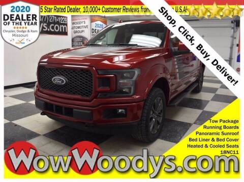 2018 Ford F-150 for sale at WOODY'S AUTOMOTIVE GROUP in Chillicothe MO