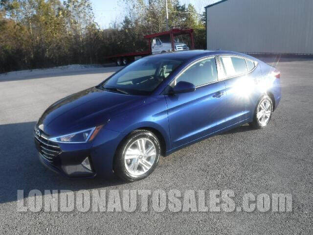 2020 Hyundai Elantra for sale at London Auto Sales LLC in London KY