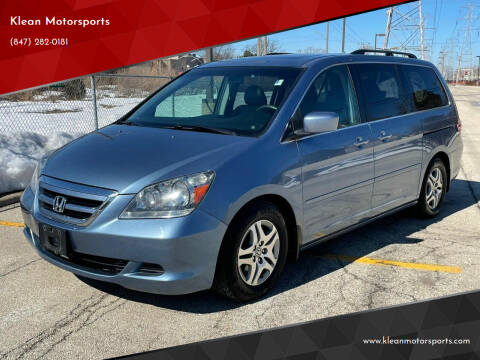 2005 Honda Odyssey for sale at Klean Motorsports in Skokie IL