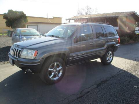 2002 Jeep Grand Cherokee for sale at Manzanita Car Sales in Gridley CA