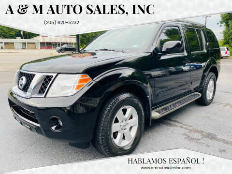 2012 Nissan Pathfinder for sale at A & M Auto Sales, Inc in Alabaster AL