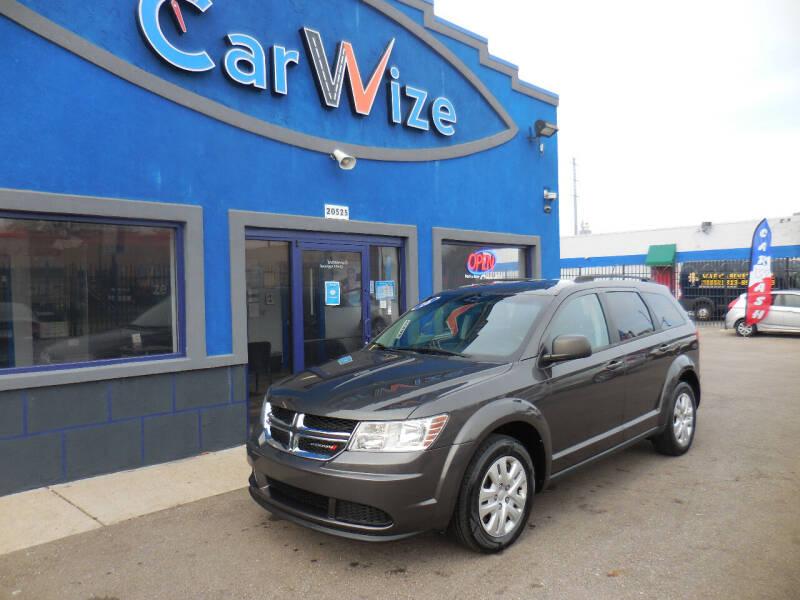 2016 Dodge Journey for sale at Carwize in Detroit MI