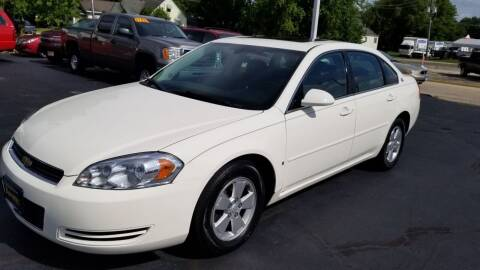2007 Chevrolet Impala for sale at Advantage Auto Sales & Imports Inc in Loves Park IL