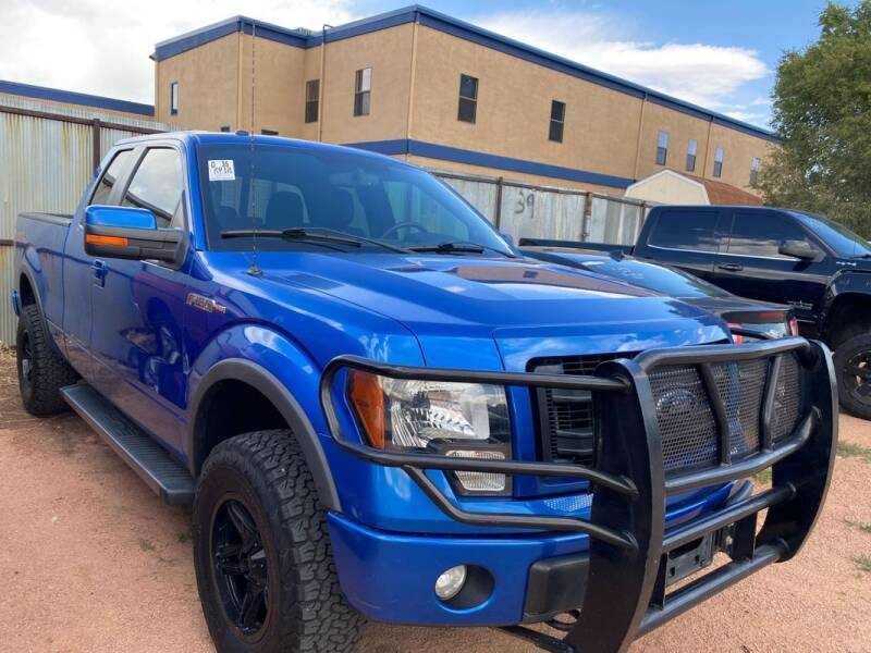 2013 Ford F-150 for sale at Street Smart Auto Brokers in Colorado Springs CO
