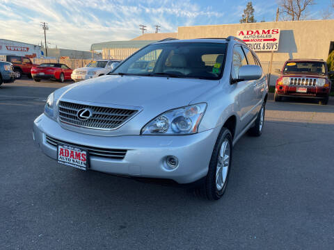 2008 Lexus RX 400h for sale at Adams Auto Sales in Sacramento CA