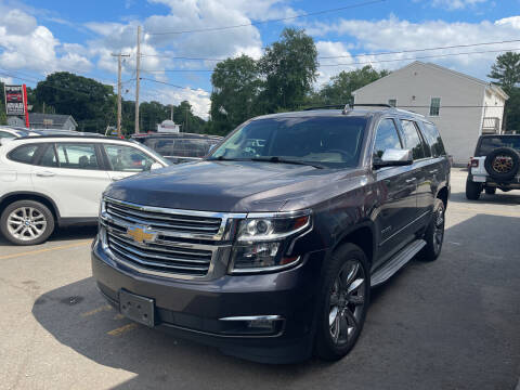 2015 Chevrolet Tahoe for sale at Top Quality Auto Sales in Westport MA